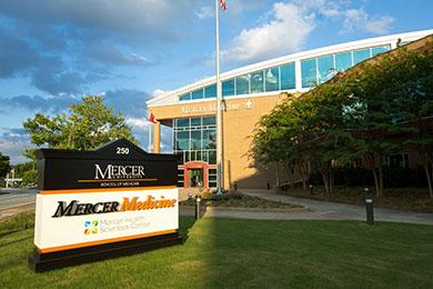 Mercer Medicine Sign